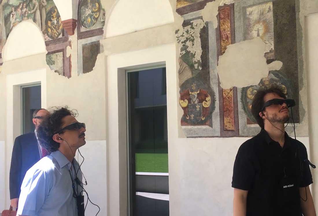 Visita in realtà aumentata al LAC di Lugano