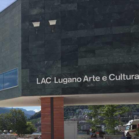guida in realtà aumentata al LAC - Lugano Arte e Cultura